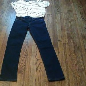 Gap 1969 real straight jeans 27r